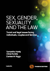 Sex, Gender, Sexuality and the Law