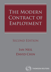 The Modern Contract of Employment Second Edition - Book & eBook