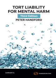 Tort Liability for Mental Harm 3rd Edition - Book