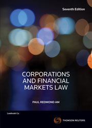 Corporations and Financial Markets Law 7e
