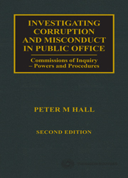 Investigating Corruption and Misconduct in Public Office 2e - Book