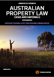 Australian Property Law: Cases and Materials 5th ed
