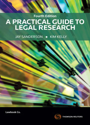 A Practical Guide to Legal Research bk + ebk