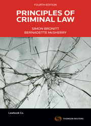 Principles of Criminal Law 4e book + ebook