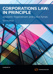Corporations Law: In Principle 10e book + ebook