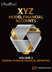 2016 XYZ Model Financial Accounts Volume 2 - General Purpose Financial Reporting - (Book)