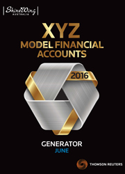 2016 XYZ Model Financial Accounts Generator - June CD (Non-sub)
