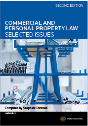 Commercial and Personal Property Law: Selected Issues 2e