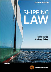 Shipping Law 4th Edition - Book