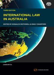 International Law in Australia 3rd edition book+ ebook