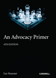 An Advocacy Primer, 4th Edition