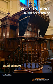Expert Evidence: Law Practice, Procedure & Advocacy 6e book + ebook