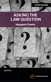 Asking the Law Question 4th edition book + ebook