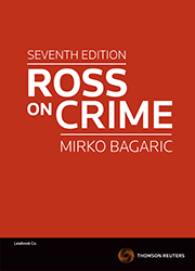 Ross on Crime 7th Edition - Book