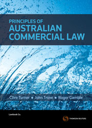 Principles of Australian Commercial Law Book+eBook