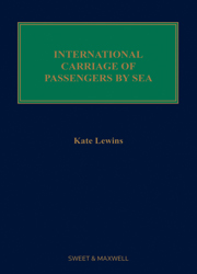 International Carriage Passengers by Sea