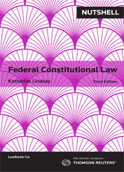 Nutshell: Federal Constitutional Law 3rd edition
