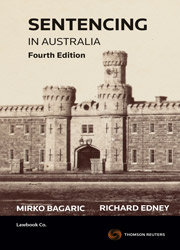 Sentencing in Australia 4th Edition - Book