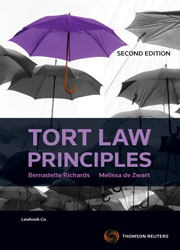Tort Law Principles 2e book+ebook