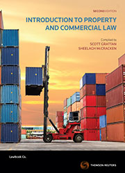 Introduction to Property and Commercial Law 2nd ed