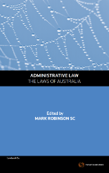 Administrative Law - The Laws of Australia