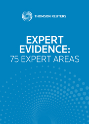 Expert Evidence: 75 Expert Areas (ebook)