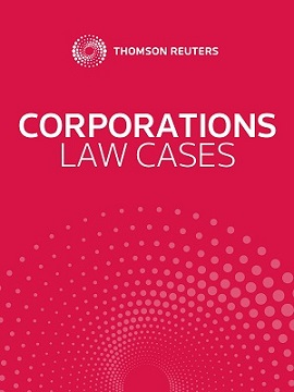 Corporations Law Cases Online