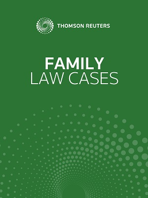 AU Family Law Cases on Westlaw