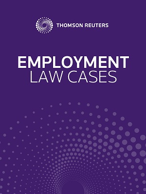 Employment Law Cases