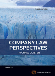Company Law Perpsectives 3rd edition eBook