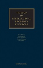 Tritton on Intellectual Property in Europe 5th edition