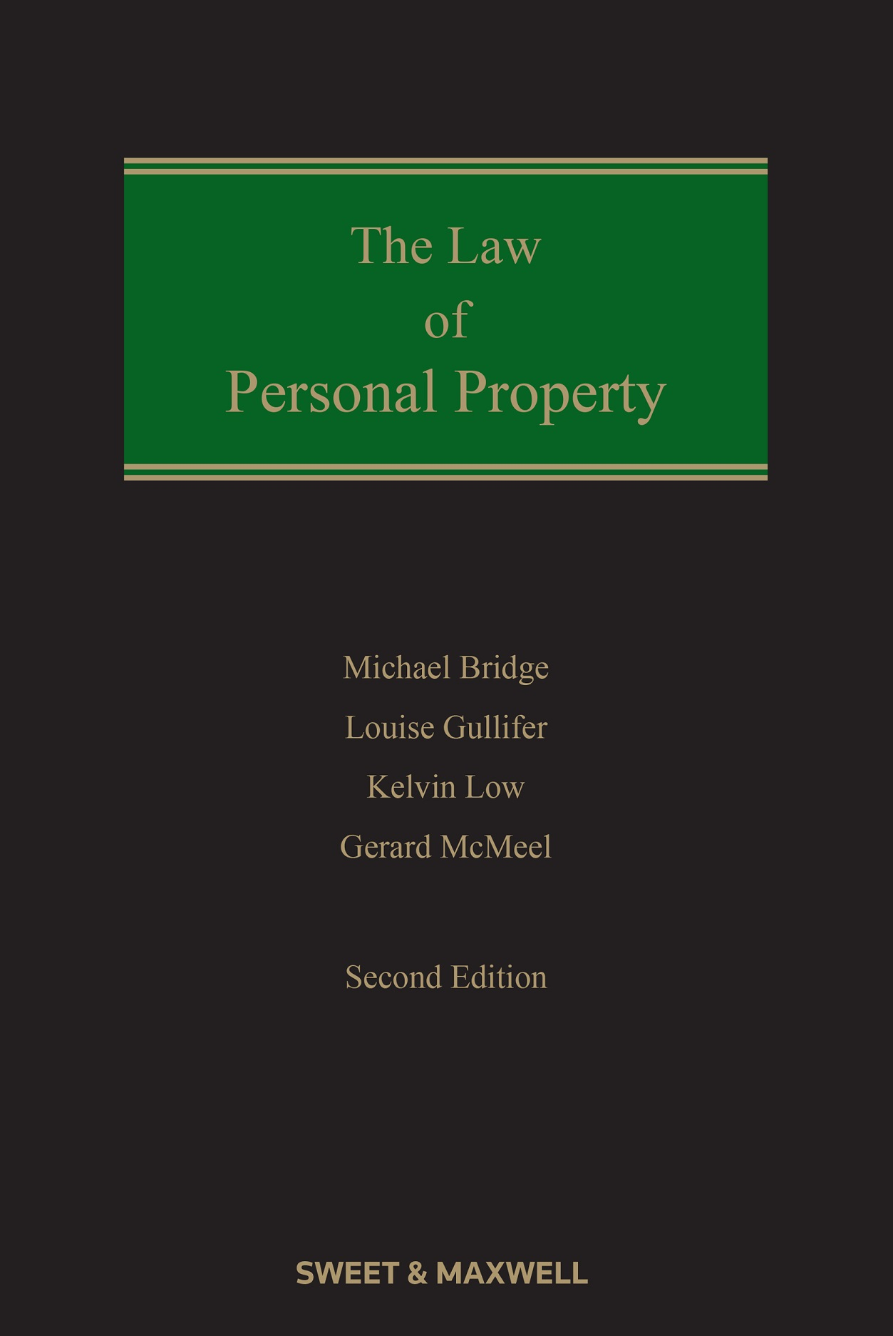 Law of Personal Property 2nd edition