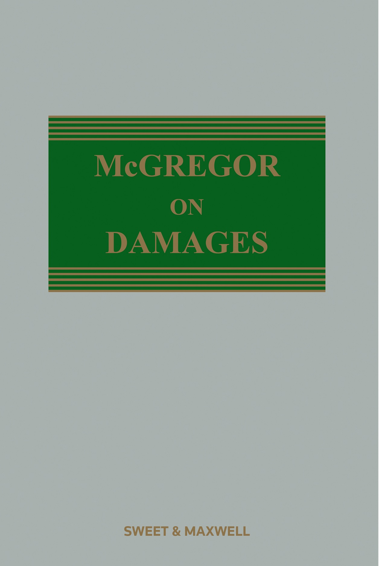 McGregor on Damages 20th edition