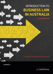 Introduction to Business Law in Australia 2e