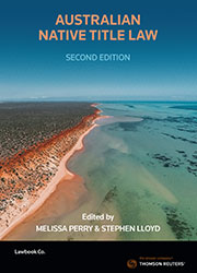 Australian Native Title Law 2nd Edition