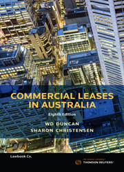 Commercial Leases in Australia 8th Edition - Book