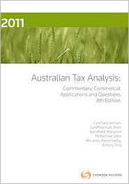 Australian Tax Analysis 9e ebook
