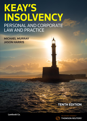 Keay's Insolvency: Personal & Corporate Law and Practice 10th edition Book+eBook