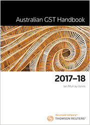 Australian GST Handbook 2017-18 Book/eBook