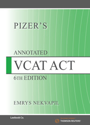 Pizers Annotated VCAT 6e eBk