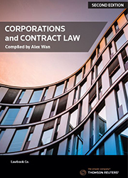 Corporations and Contract Law 2nd ed