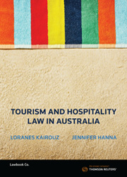 Tourism and Hospitality Law in Australia bk+ebk