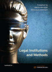 Legal Institutions and Methods