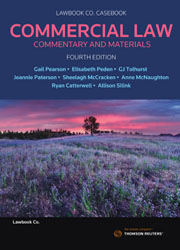 Commercial Law: Commentary and Materials 4th ed ebk