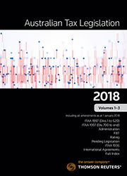 The australian tax handbook 2018 thomson reuters australia australian tax legislation 2018 volumes 1 3 ebook fandeluxe Image collections