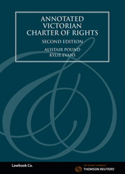 Annotated Victorian Charter of Rights 2e - book + ebook