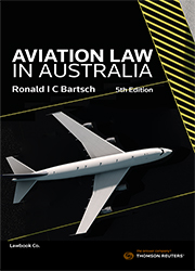 Aviation Law in Australia 5e