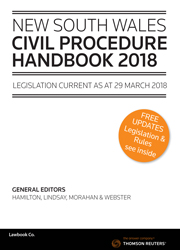 NSW Civil Procedure Handbook 2018