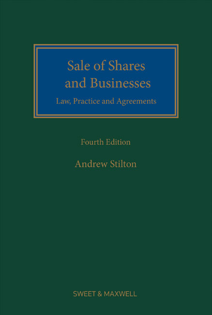 Sale of Shares and Businesses 5th edition