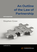 Outline of Law of Partnership 5e ebook